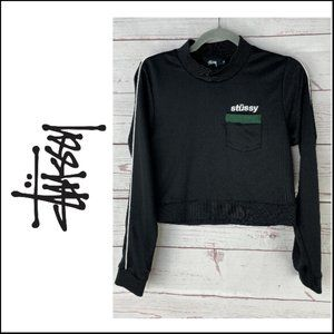 Stussy Women's Mercedes Track Top Size M